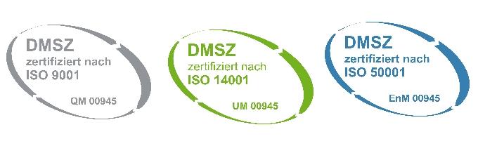 DMSZ-ISO-Zertifiziert