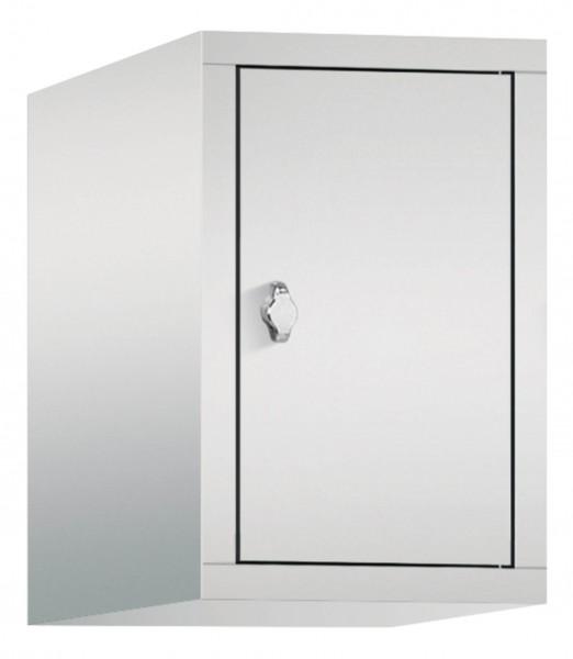 Spind Aufsatzschrank Comfort 1 Tür (300mm) Lichtgrau