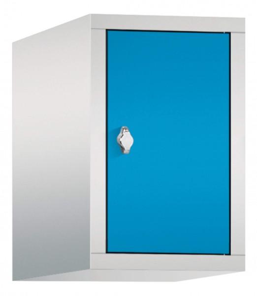 Spind Aufsatzschrank Comfort 1 Tür (300mm) Lichtblau