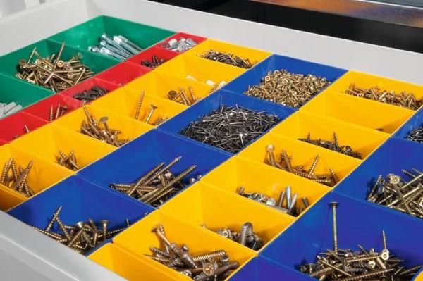 Schubladeneinteilung für Schrankbreite 930 mm