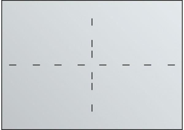 Fachunterteilung für Schubladen DIN A0 4x DIN A2