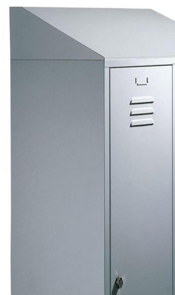 Schrägdach für Spind Comfort 1 Abteil 400 mm