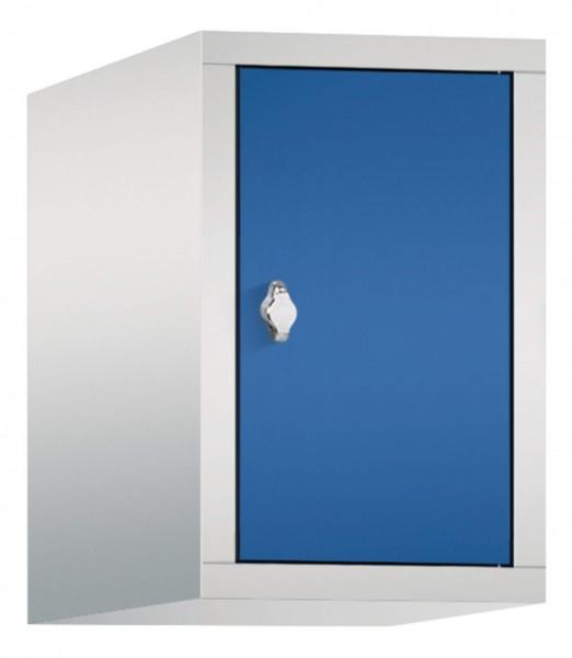 Spind Aufsatzschrank Comfort 1 Tür (400mm) Enzianblau