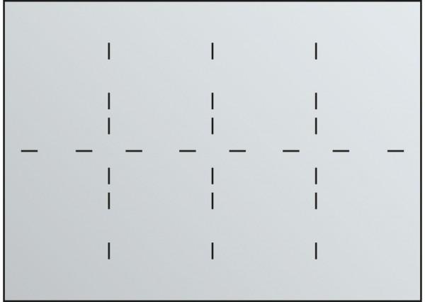 Fachunterteilung für Schubladen DIN A0 8x DIN A3