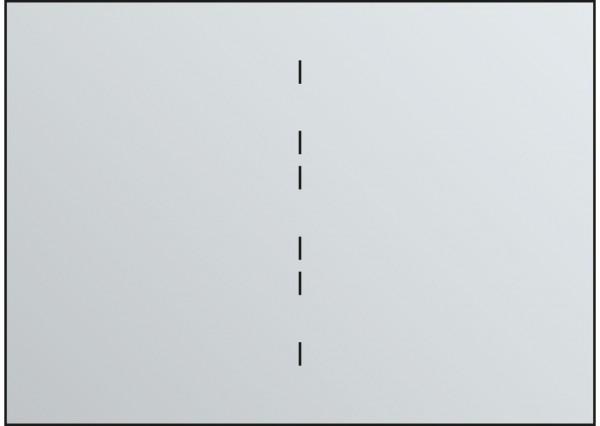 Fachunterteilung für Schubladen DIN A0 2x DIN A1