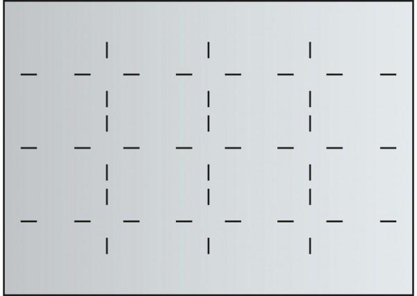 Fachunterteilung für Schubladen DIN A0 16x DIN A4