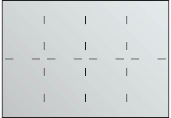 Fachunterteilung für Schubladen DIN A1 8x DIN A4