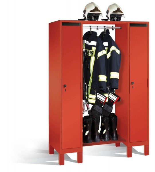 Feuerwehr-Garderobe