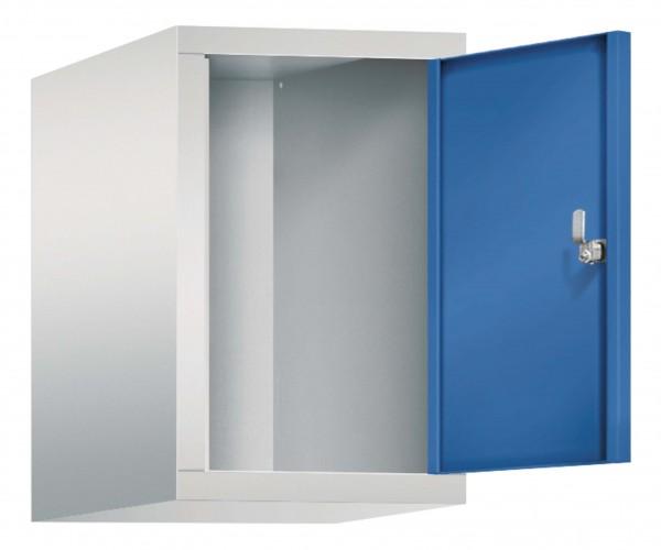 Spind Aufsatzschrank Comfort 1 Tür (300mm) Enzianblau