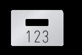 Ausgabemarke für Reihengarderobe