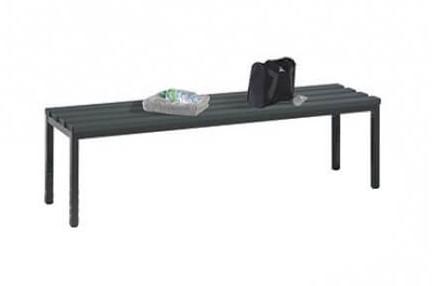 Freistehende Sitzbank Kunststofflattung